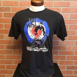 The Who Quadrophenia graphic tee band t shirt M